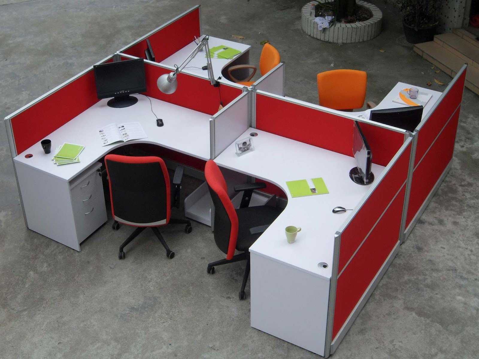 Used Office Cubes Furniture